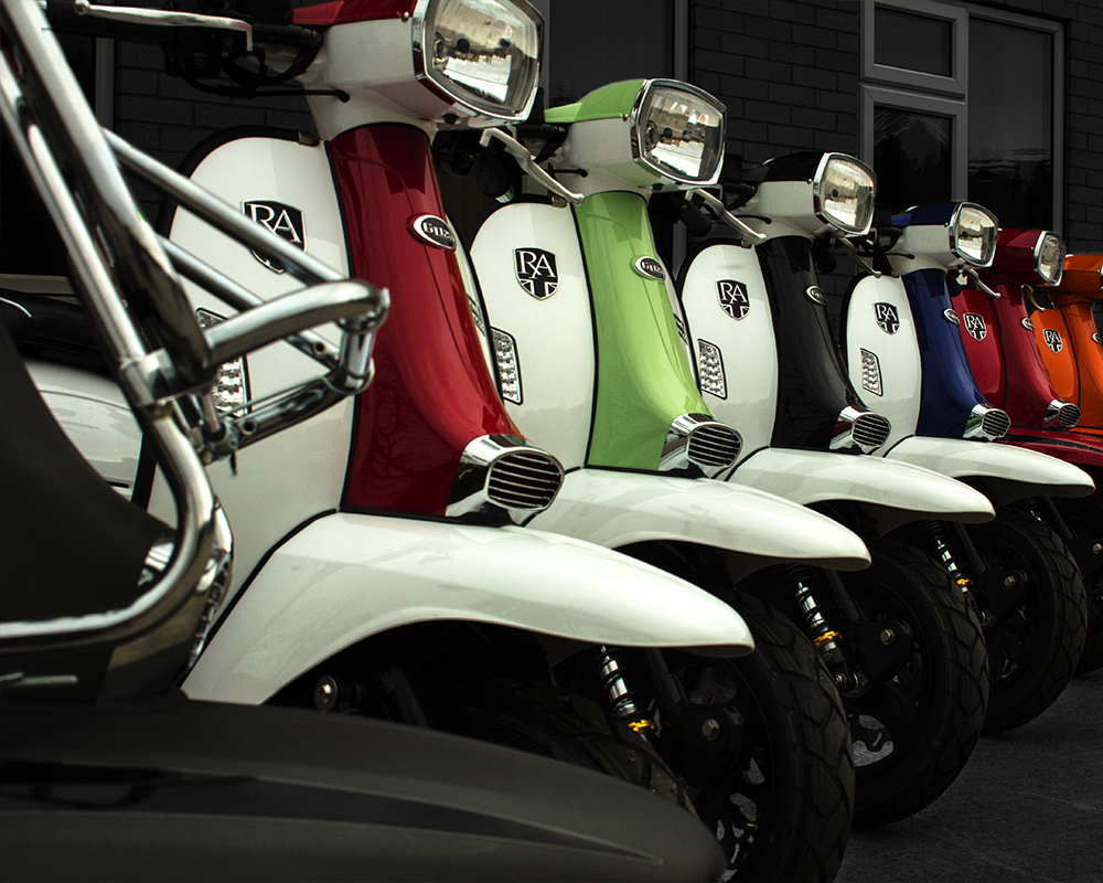 Royal Alloy - A Range of Classic era inspired Scooters